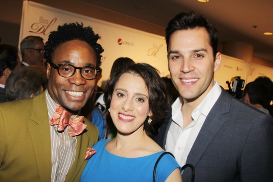 2013 Drama League Awards Luncheon — Billy Porter — Judy Kuhn — Ryan Silverman