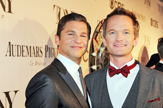 Tony Red Carpet- David Burtka- Neil Patrick Harris