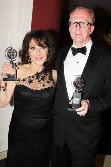 2013 Tony Awards Winner's Circle – Andrea Martin – Tracy Letts