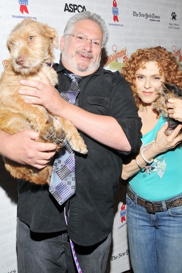 Broadway Barks 2013 — Harvey Fierstein — Bernadette Peters