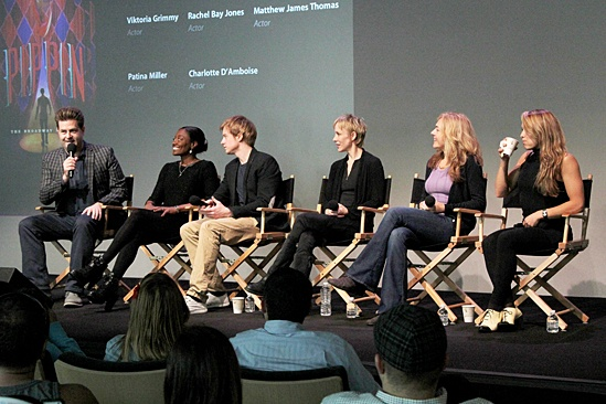 Pippin – Apple Store Soho – Paul Wontorek – Patina Miller – Matthew James Thomas – Charlotte d'Amboise – Rachel Bay Jones – Viktoria Grimmy