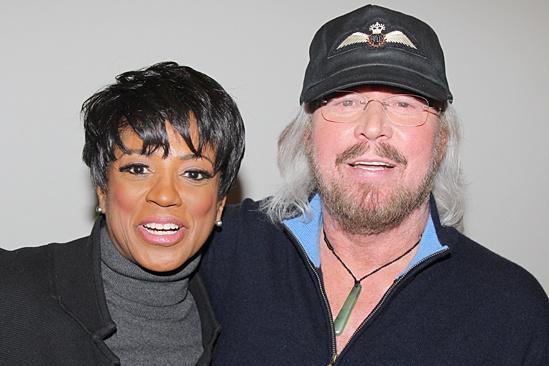Motown - OP - Marva Hicks - Barry Gibb