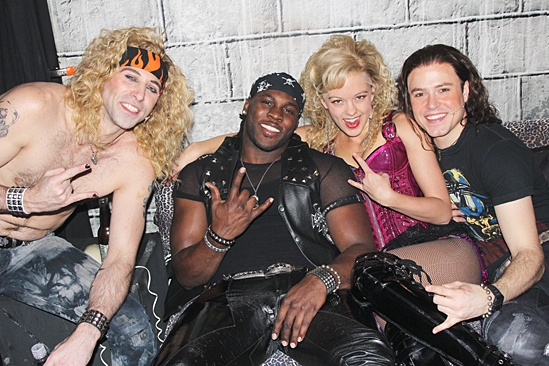 Rock of Ages - Op - Joey Calveri - Joique Bell - Kate Rockwell - Aaron C. Finley