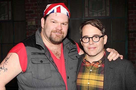 Kinky Boots - Sarah Jessica Parker visits - OP - Daniel Stewart Sherman - Matthew Broderick