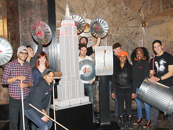 Stomp - Empire State Buidling - Anniversary - OP - cast