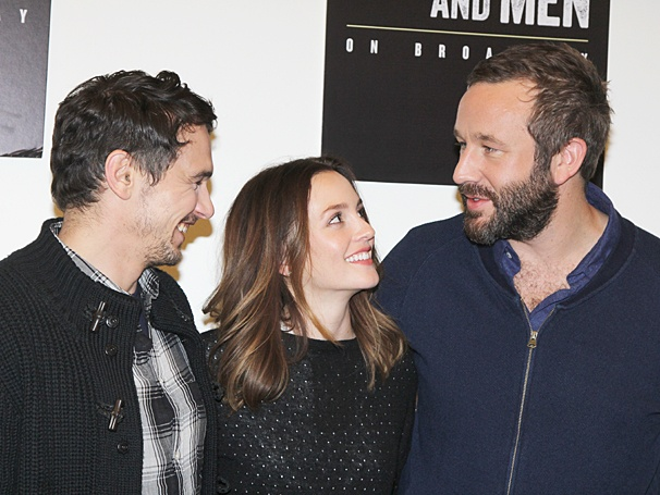 Of Mice and Men - Meet and Greet - Op - 3/14 - James Franco - Leighton Meester - Chris O'Dowd