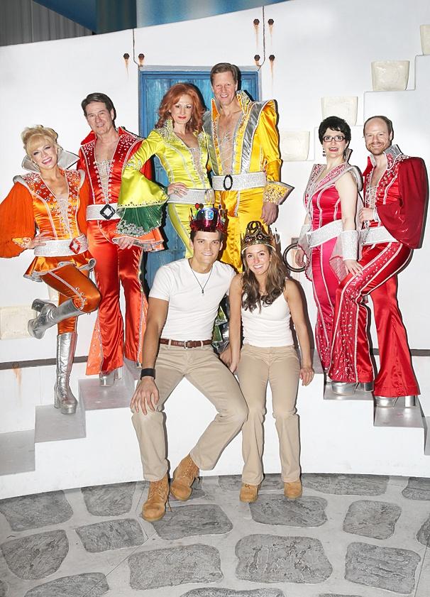 Mamma Mia - 5,000th Performance - OP - 3/14 - Felicia Finley - Paul DeBoy - Corinne Melancon - Alan Campbell - Lauren Cohn - John Hemphill - Jon Jorgenson - Elana Ricardo
