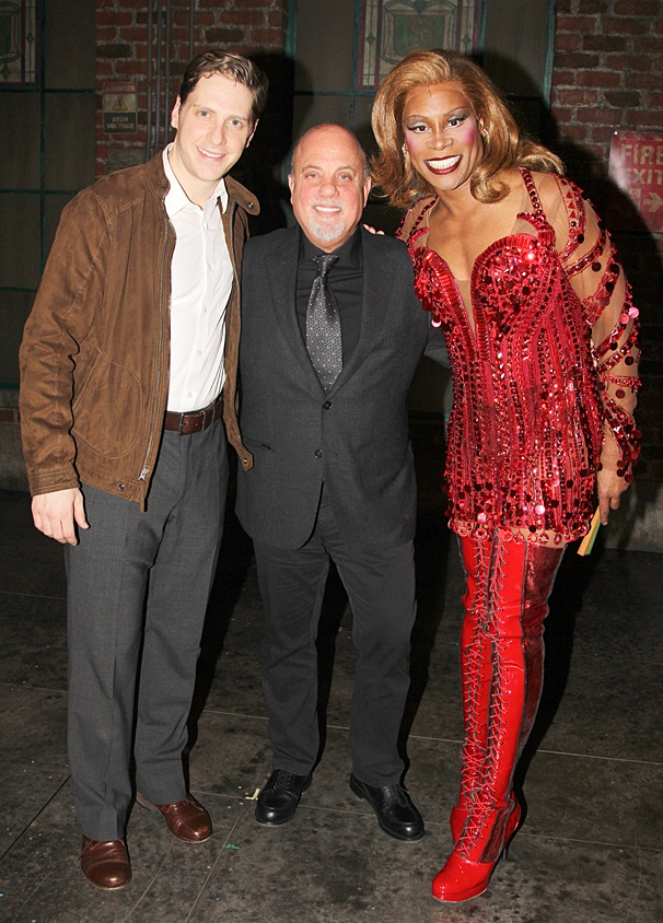 Kinky Boots - Billy Joel - OP - 3/14 - Andy Kelso - Billy Joel - Billy Porter
