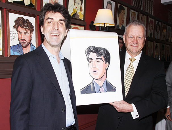 Sardi's - Jason Robert Brown - OP - 5/14 - Jason Robert Brown - Max Klimavicius