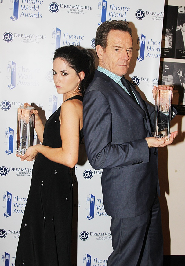 Theatre World Awards - OP - 6/14 - Sarah Greene - Bryan Cranston