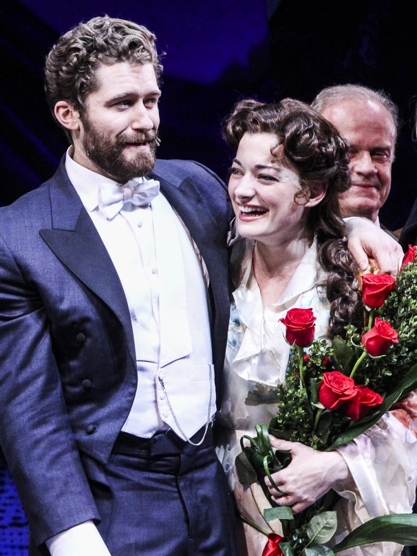 Finding Neverland  - Opening - 4/15 -  Matthew Morrison - Laura Michelle Kelly