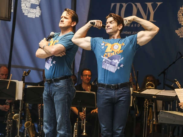 Stars in the Alley - 5/15 - James Moye - Andy Karl