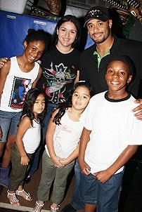 Johan Santana at Lion King - Johan Santana - NicKayla Tucker - Guy Barfield