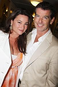 Brosnan at South Pacific - Pierce Brosnan - Keely Shaye Smith