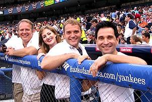 Jersey Boys at Yankee Stadium - Joe Payne - Heather Ferguson - Adam Ben-David - Travis Cloer