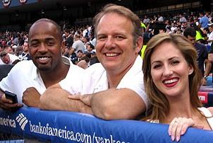 Jersey Boys at Yankee Stadium - Kris Coleman - Joe Payne - Heather Ferguson