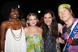 2008 Hair Opening - Patina Renea Miller - Megan Lawrence - Diane Paulus - James Rado