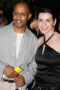 2008 Hair Opening - Ruben Satiago-Hudson - Julianna Margulies