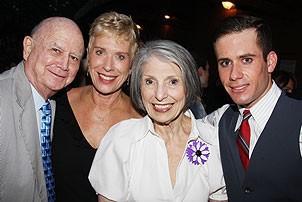 2008 Hair Opening - Gerald Schoenfeld - Alyce Faye Eichelberger - Pat Schoenfeld - John Palermo