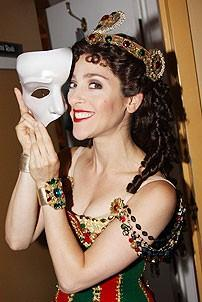 Marni Raab in Phantom of the Opera - Marni Raab (mask)