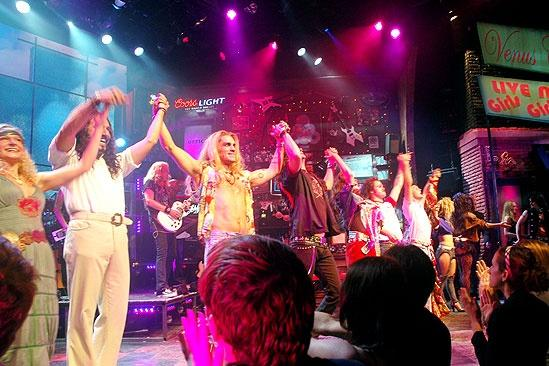 Rock of Ages Opening  Curtain Call