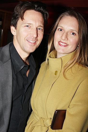 Andrew McCarthy with his first wife Carol Schneider