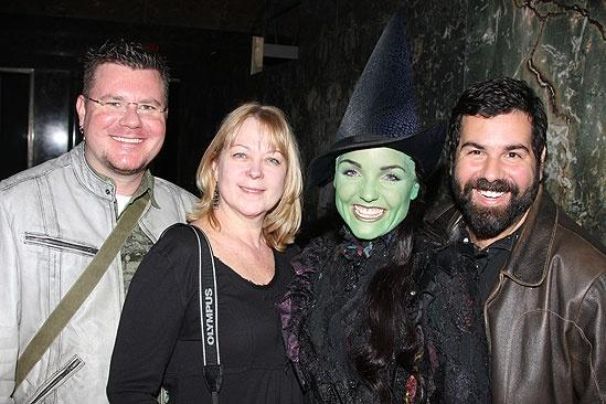Wicked Day at the Empire State Building – Kerry Ellis – Jimmy Cortes – Chris Clark – Kathe Mull