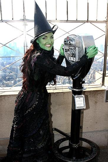 Wicked Day at the Empire State Building – Kerry Ellis