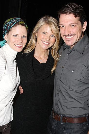 Christie Brinkley at South Pacific – Kelli O'Hara – Christie Brinkley – Paulo Szot