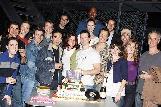 Jersey Boys 3rd Year Celebration – Company