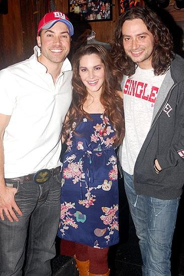 Ace Young at Rock of Ages - Ace Young - Kelli Barrett - Constantine Maroulis