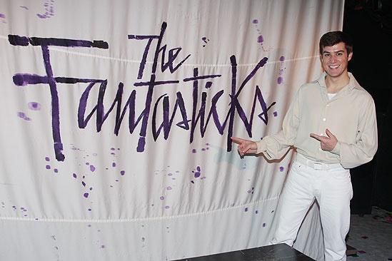 Nick Spangler at The Fantasticks