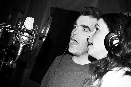 Shrek in the Studio – Sutton Foster – Brian D'Arcy James