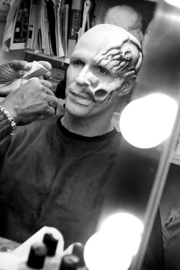 Howard McGillin Phantom transformation  skull2