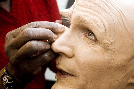 Howard McGillin Phantom transformation – makeup