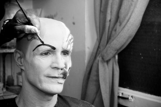 Howard McGillin Phantom transformation  eyebrows