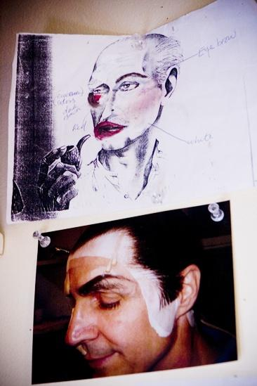 Howard McGillin Phantom transformation – drawing