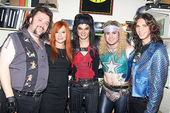 Tori Amos at Rock of Ages – Jay Klaitz – Tori Amos – Jeremy Woodard– Mitchell Jarvis – Joey Taranto