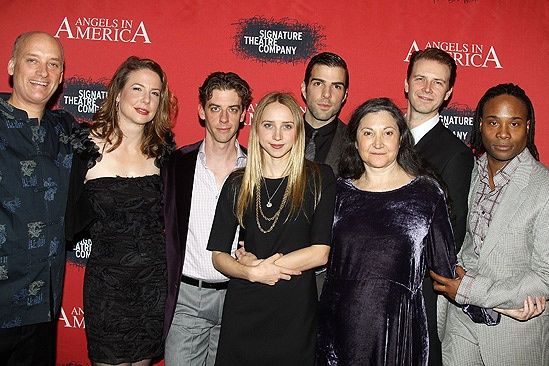 Angels in America Opening Night – group shot