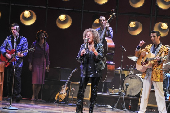 Darlene Love at Million Dollar Quartet – Robert Lyons – Elizabeth Stanley - Darlene Love – Eddie Clendening