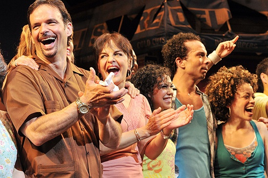 In the Heights Closing Night – Rick Negron – Priscila Lopez – Rosie Lani Fiedelman  – tktktk k- Marcy Harriell
