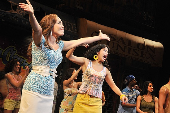 In the Heights Closing Night  Andrea Burns  Courtney Reed
