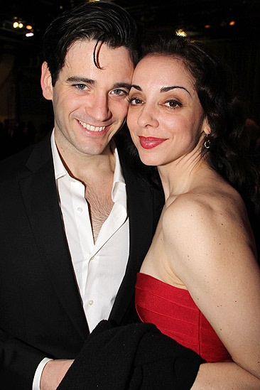 Anything Goes Opening Night  Colin Donnell  Jennifer Savelli