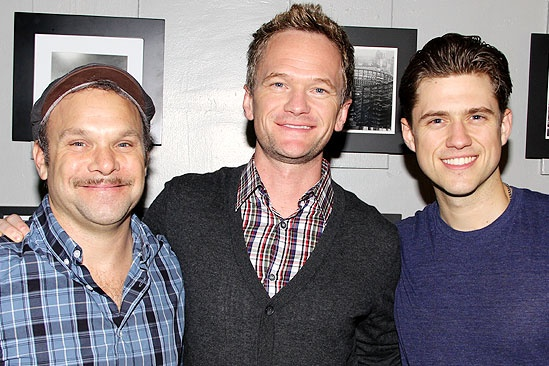Neil Patrick Harris at <i>Catch Me If You Can</i> - Norbert Leo Butz – Neil Patrick Harris – Aaron Tveit