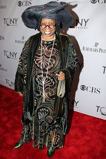 2011 Tony Awards Red Carpet  Whoopi Goldberg