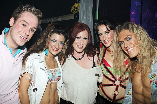 Tiffany at <i>Rock of Ages</i> - Cody Scott Lancaster – Tessa Alves - Tiffany Emily Williams – MiG Ayesa