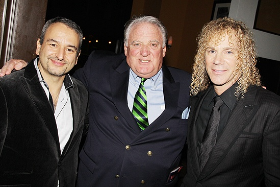 Memphis national tour launch – Patt Halloran – Joe DiPietro – David Bryan