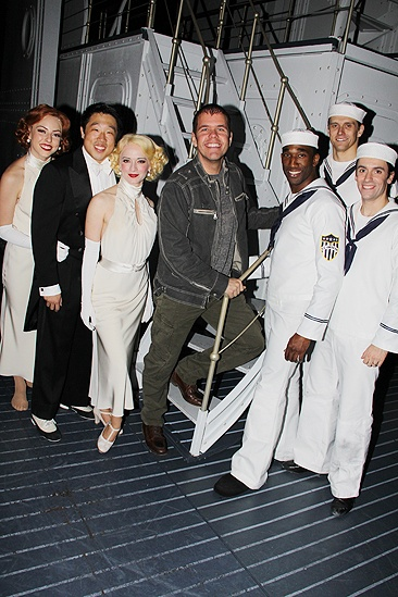 Perez Hilton at <i>Anything Goes</i> - Kimberly Fauré – Raymond J. Lee – Joyce Chittick  - Perez Hilton – Anthony Wayne – Adam Perry – Clyde Alves