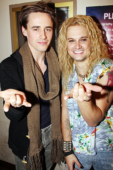 Diego Boneta at <i>Rock of Ages</i> - Reeve Carney – Jeremy Woodard