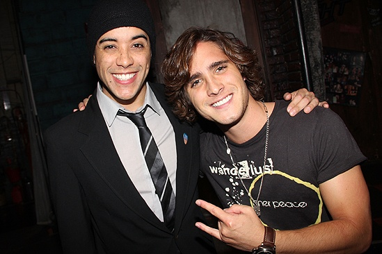 Diego Boneta at <i>Rock of Ages</i> - Dan Domenech – Diego Boneta